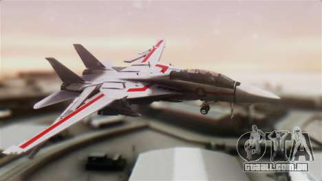 F-14D Tomcat Macross Red para GTA San Andreas