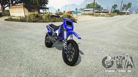 Maibatsu Sanchez Yamaha-KTM-Monster Energy para GTA 5