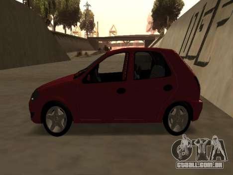 Suzuki Fun 2009 para GTA San Andreas traseira esquerda vista
