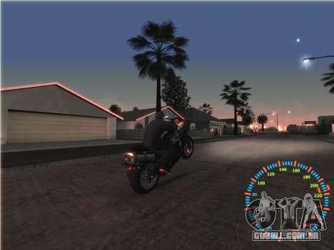 Simples velocímetro para GTA San Andreas sexta tela