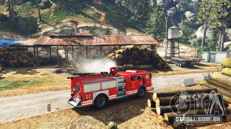 GTA 5 Trabalho no serviço de bombeiros v1.0-RC1 terceiro screenshot