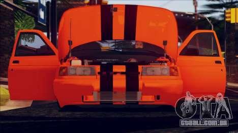 VAZ 2112 Turbo para GTA San Andreas traseira esquerda vista