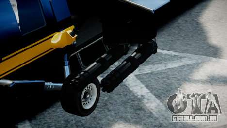 Annihilator from GTA 5 para GTA 4 vista direita