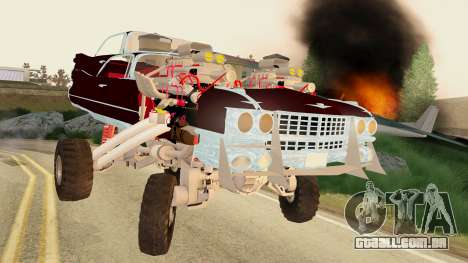 Gigahorse from Mad Max Fury Road para GTA San Andreas