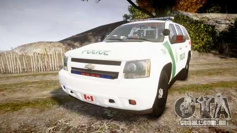 Chevrolet Tahoe Niagara Falls Parks Police [ELS] para GTA 4