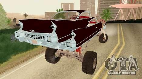 Gigahorse from Mad Max Fury Road para GTA San Andreas esquerda vista
