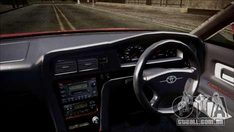 Toyota Chasher Tourer V para GTA San Andreas vista direita