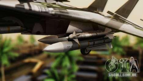 F-14D Super Tomcat VF-2 Bounty Hunters para GTA San Andreas vista direita