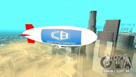 Publicidade dirigíveis para GTA San Andreas segunda tela