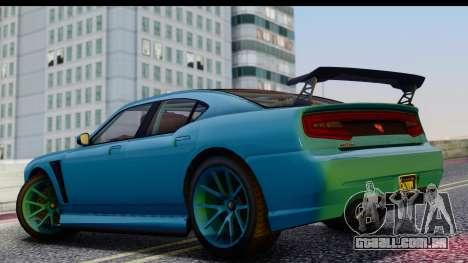 GTA 5 Bravado Buffalo S Sprunk para GTA San Andreas vista direita