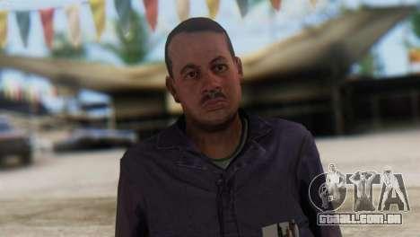 Uborshik Skin from GTA 5 para GTA San Andreas terceira tela