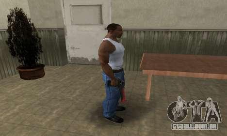Red Tiger Deagle para GTA San Andreas terceira tela