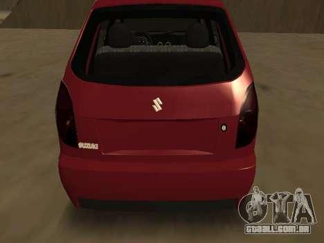 Suzuki Fun 2009 para GTA San Andreas vista direita