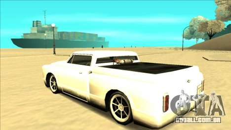 Slamvan Final para GTA San Andreas vista inferior