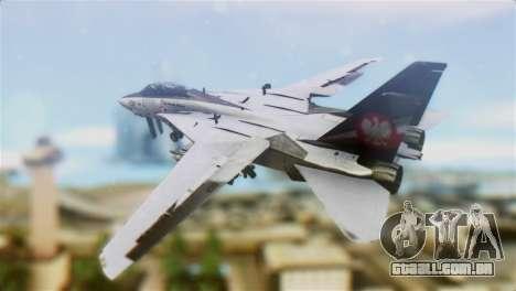 F-14D Super Tomcat Polish Navy para GTA San Andreas esquerda vista
