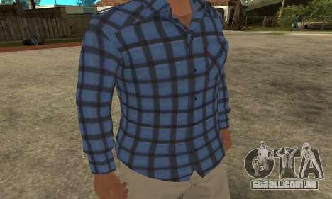 Skin Claude [HD] para GTA San Andreas segunda tela