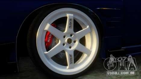 Nissan 180SX Uras Bodykit para GTA San Andreas traseira esquerda vista