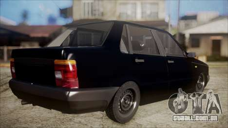 Fiat Duna Al Piso para GTA San Andreas esquerda vista