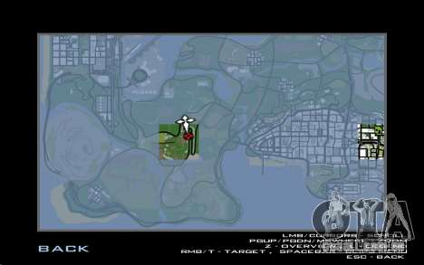 Estrada de reparação para GTA San Andreas sétima tela