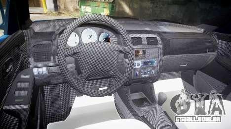 Mazda 626 para GTA 4 vista de volta