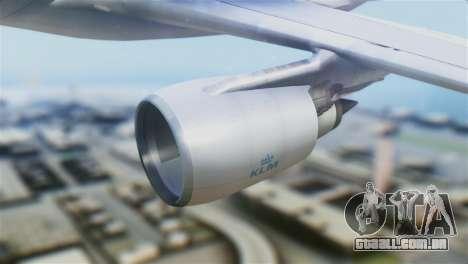 Airbus A330-200 KLM New Livery para GTA San Andreas vista direita