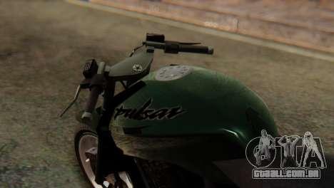Bajaj Rouser 135 Stunt para GTA San Andreas vista direita
