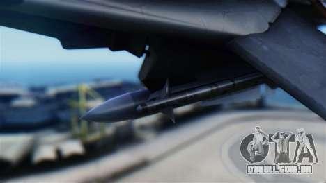 F-14D Super Tomcat Halloween Pumpkin para GTA San Andreas vista direita