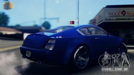 GTA 5 Enus Windsor IVF para GTA San Andreas esquerda vista