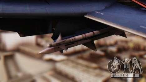 F-14A Tomcat Blue Angels para GTA San Andreas vista direita