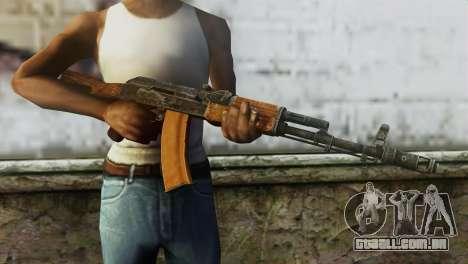 AK-74 para GTA San Andreas terceira tela