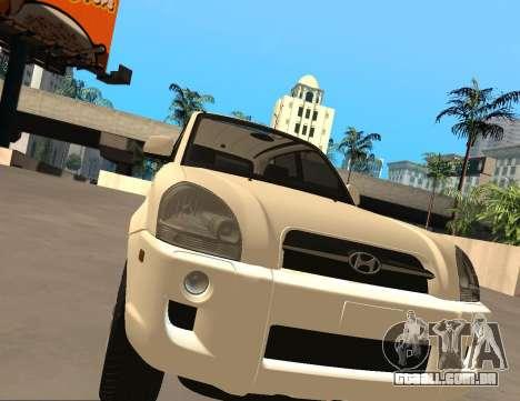 Hyundai Tucson para GTA San Andreas esquerda vista