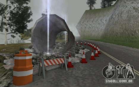 Estrada de reparação para GTA San Andreas