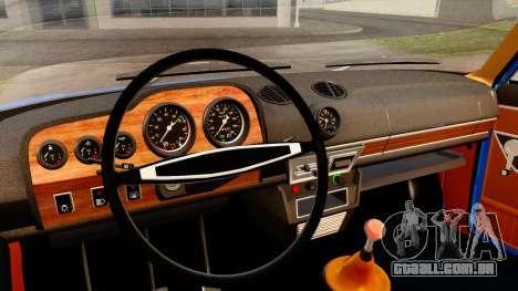 VAZ 2103 para GTA San Andreas vista traseira