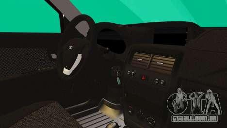 VAZ 2172 para GTA San Andreas vista direita