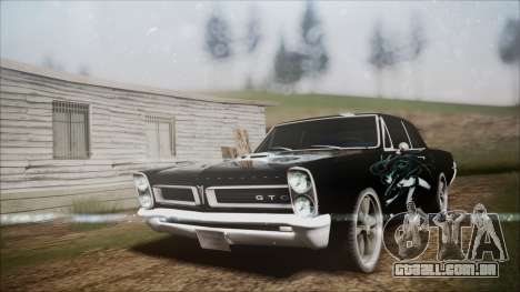 Pontiac GTO Black Rock Shooter para GTA San Andreas