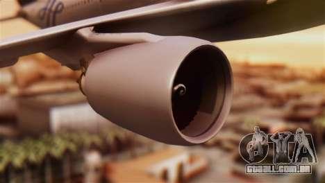 Airbus A330-200 Garuda Indonesia Sky Team para GTA San Andreas vista direita