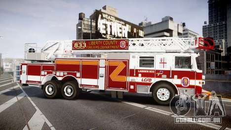 Pierce Arrow XT Ladder 2013 [ELS] para GTA 4 esquerda vista