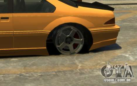 Vapid Fortune Drift para GTA 4 vista superior