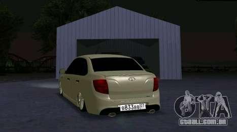 VAZ 2190 Esporte para GTA San Andreas esquerda vista