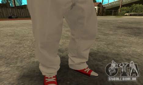 Skin Claude [HD] para GTA San Andreas terceira tela