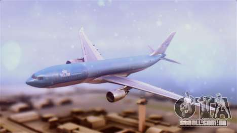 Airbus A330-200 KLM New Livery para GTA San Andreas