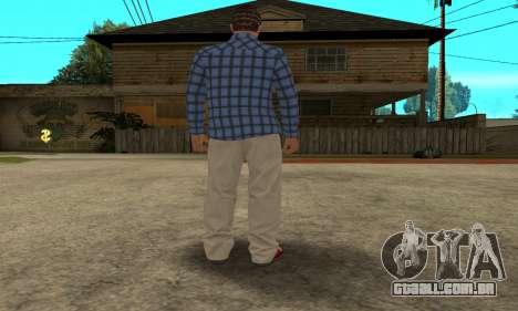Skin Claude [HD] para GTA San Andreas sexta tela