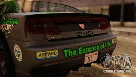 GTA 5 Bravado Buffalo Sprunk IVF para GTA San Andreas vista direita