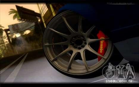 Nissan 180SX para GTA San Andreas traseira esquerda vista