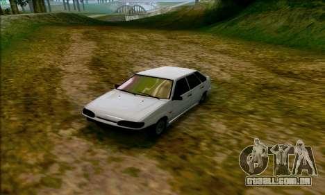 2114 Ala Dubai para GTA San Andreas esquerda vista
