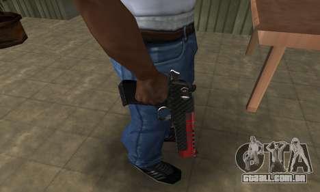 Red Tiger Deagle para GTA San Andreas segunda tela