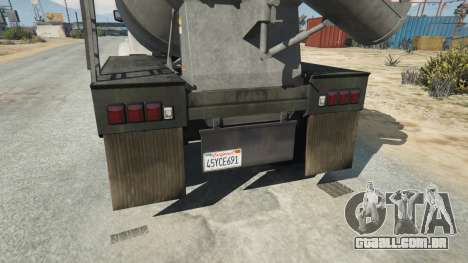 GTA 5 California State License plate terceiro screenshot