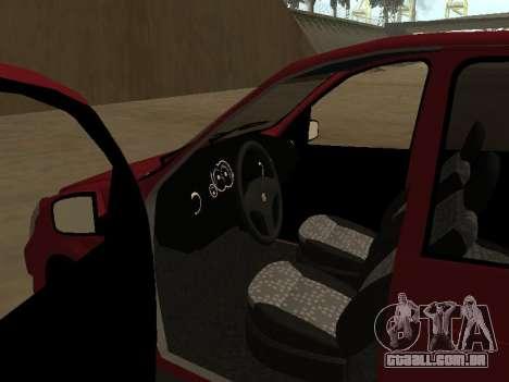 Suzuki Fun 2009 para GTA San Andreas vista traseira