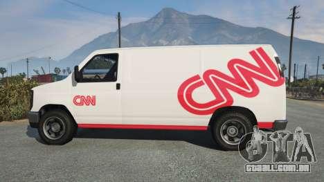 GTA 5 Bravado Rumpo CNN v0.2 vista lateral esquerda