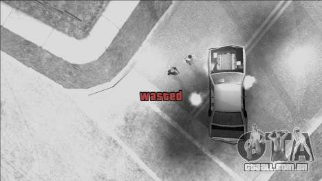 GTA V Wasted and Busted Sound [CLEO] para GTA San Andreas segunda tela